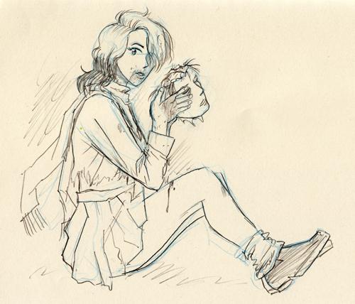 Yuko Ishida sketch